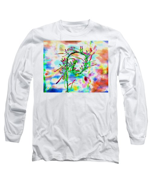 Color Curl Long Sleeve T-Shirt