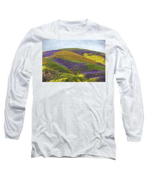 Long Sleeve T-Shirt featuring the photograph Color Mountain I by Peter Tellone