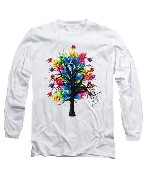 Color Tree Collection Long Sleeve T-Shirt by Marvin Blaine