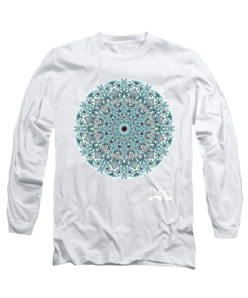 colorDrawMandalalesson Long Sleeve T-Shirt
