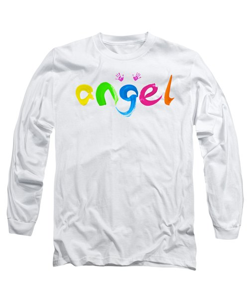 Colorful Angel Long Sleeve T-Shirt