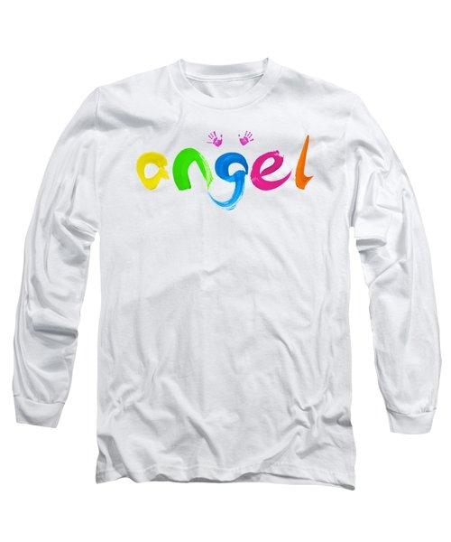 Colorful Angel Long Sleeve T-Shirt