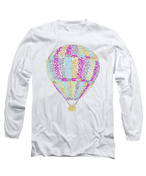 Colorful Baloon Long Sleeve T-Shirt