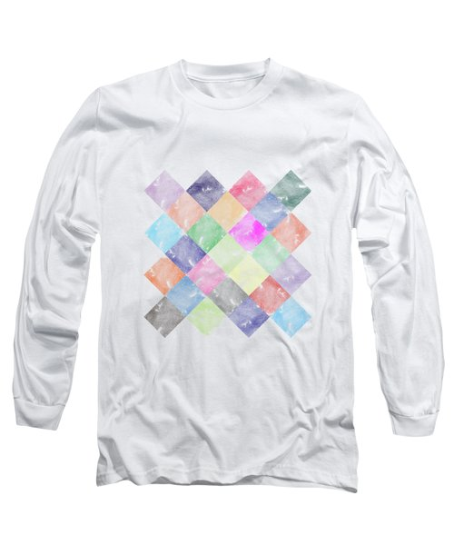 Colorful Geometric Patterns IIi Long Sleeve T-Shirt