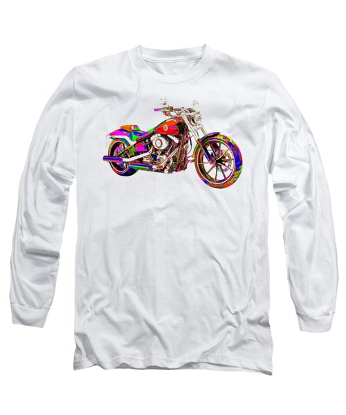 Colorful Harley-davidson Breakout Long Sleeve T-Shirt