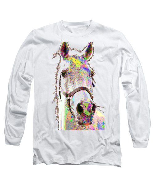 Colorful Horse Long Sleeve T-Shirt