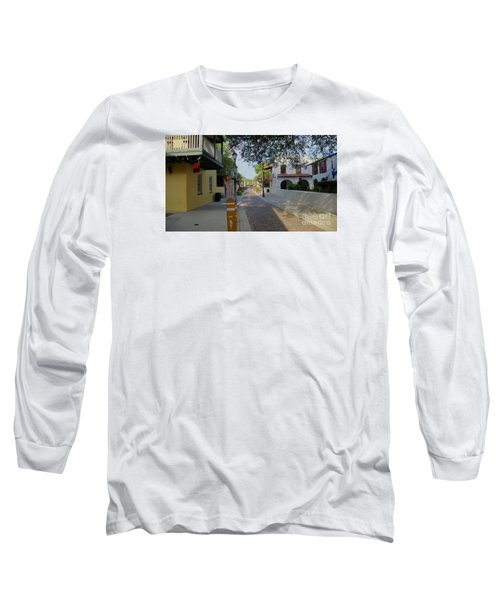 Colorful Hypolita Street Long Sleeve T-Shirt
