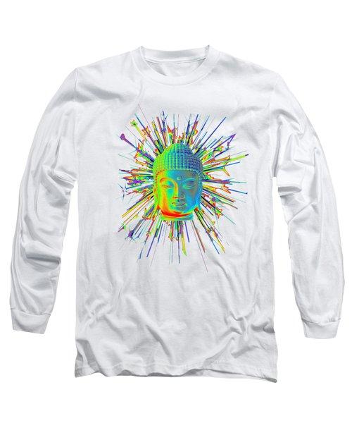 colorful Korean sparkle Long Sleeve T-Shirt by Terrell Kaucher