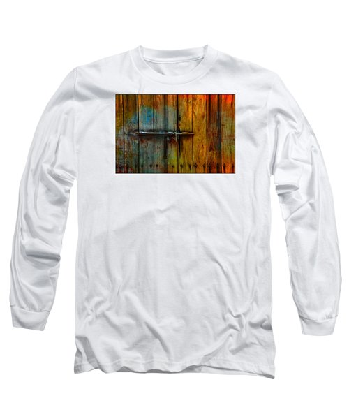 Colorful Lock Long Sleeve T-Shirt