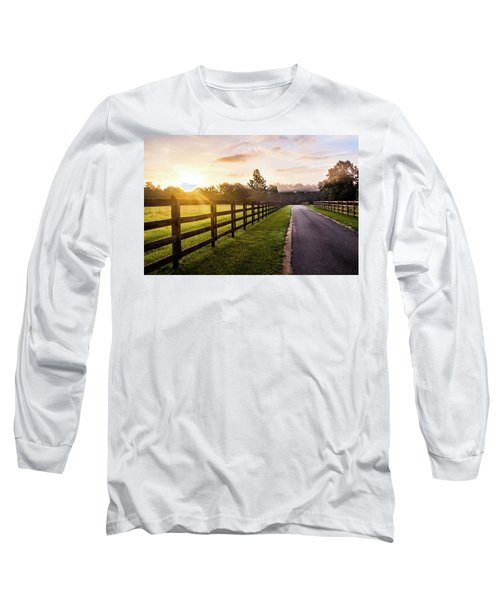 Long Sleeve T-Shirt featuring the photograph Colorful Palette At Sunrise by Shelby Young