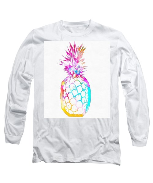 Colorful Pineapple Long Sleeve T-Shirt