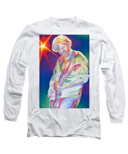 Colorful Trey Anastasio Long Sleeve T-Shirt by Joshua Morton