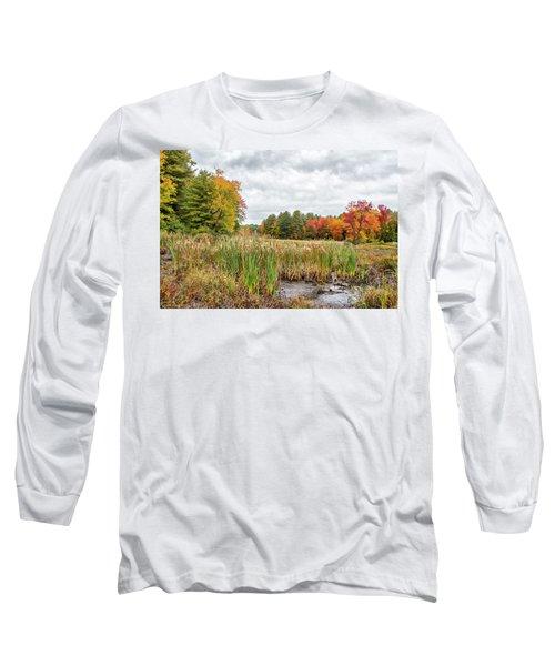 Colorful Webster Bog Long Sleeve T-Shirt