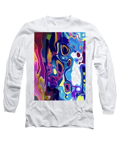 Colorinsky Long Sleeve T-Shirt by Alika Kumar