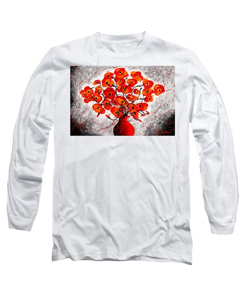 Colors Of Love Long Sleeve T-Shirt by Leon Zernitsky