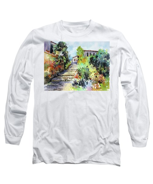 Colors Of Spain Long Sleeve T-Shirt by Rae Andrews