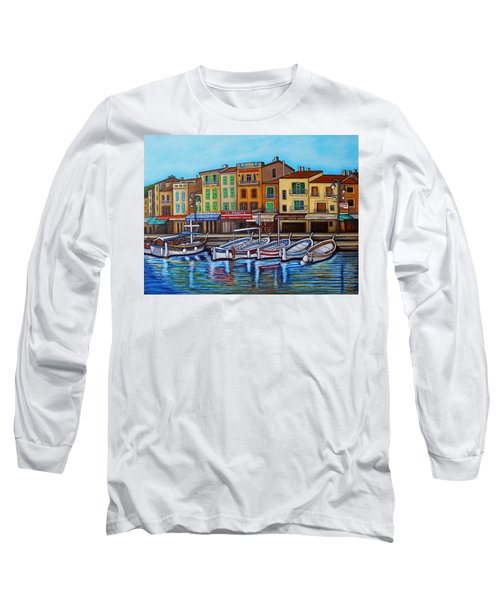 Colours Of Cassis Long Sleeve T-Shirt