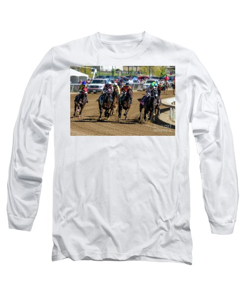 Coming Around The Turn Long Sleeve T-Shirt