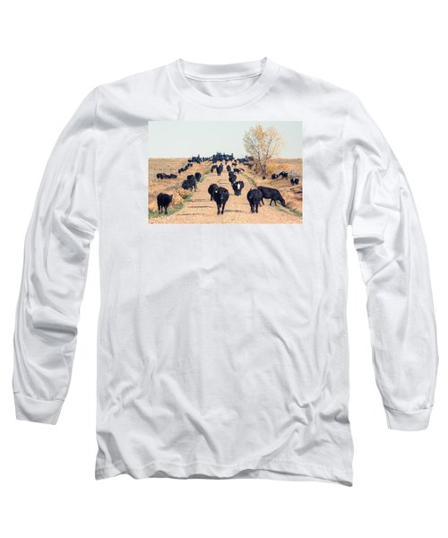 Coming Down The Road Long Sleeve T-Shirt