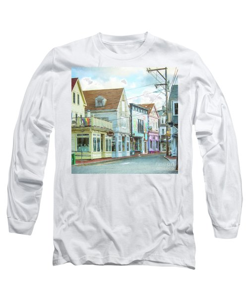 Commercial St #1 Long Sleeve T-Shirt