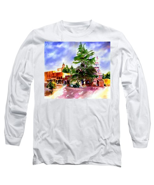 Commercial Street, Old Town Auburn Long Sleeve T-Shirt