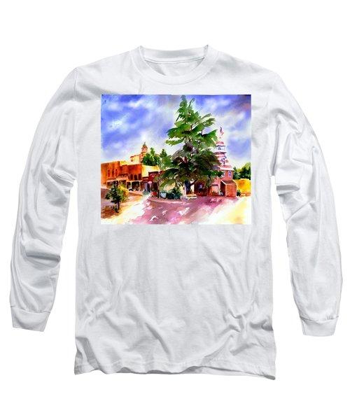 Commercial Street, Old Town Auburn Long Sleeve T-Shirt