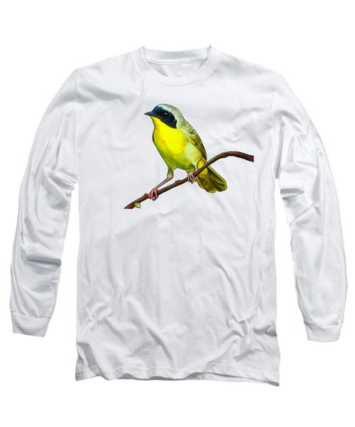 Common Yellowthroat Long Sleeve T-Shirt