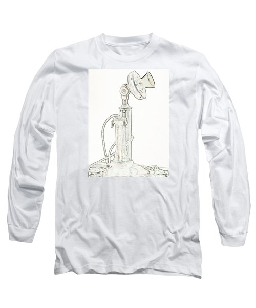 Long Sleeve T-Shirt featuring the photograph Communication by Rhonda McDougall