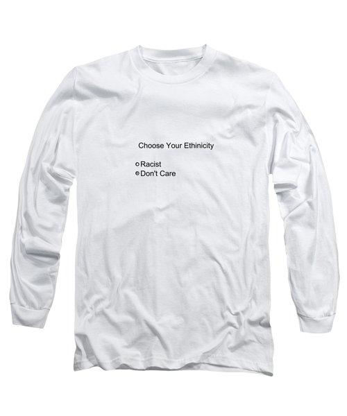 Conceptual 2d Survey No Race Long Sleeve T-Shirt