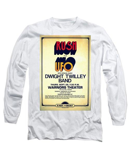 Concert Poster 6 Long Sleeve T-Shirt