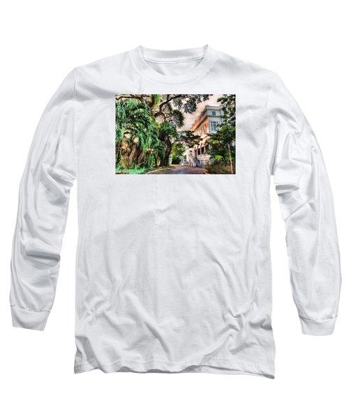 Concrete Jungle Long Sleeve T-Shirt by Nadia Sanowar