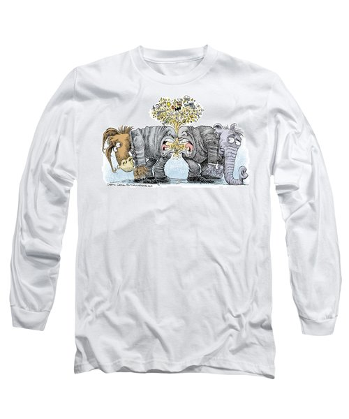 Congress Talking Out Of Their Butts Long Sleeve T-Shirt