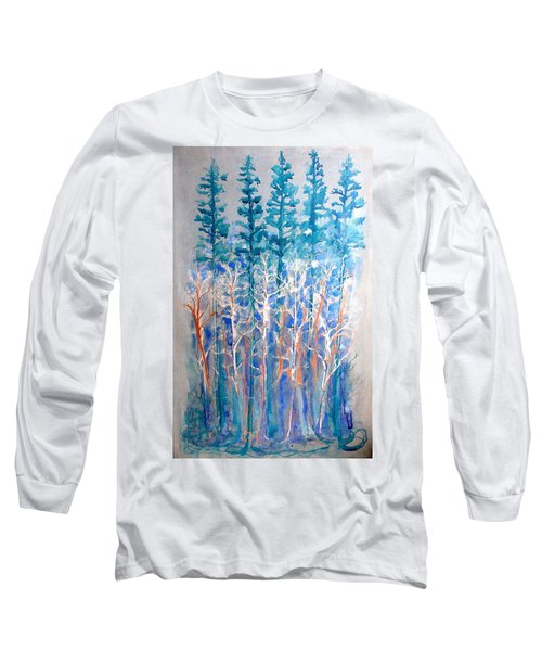 Connected In Indigo Long Sleeve T-Shirt