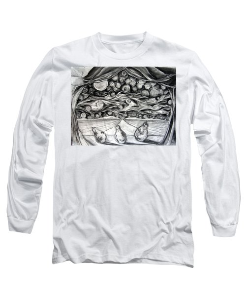 Consequence Beyond The Horizon - Study Long Sleeve T-Shirt