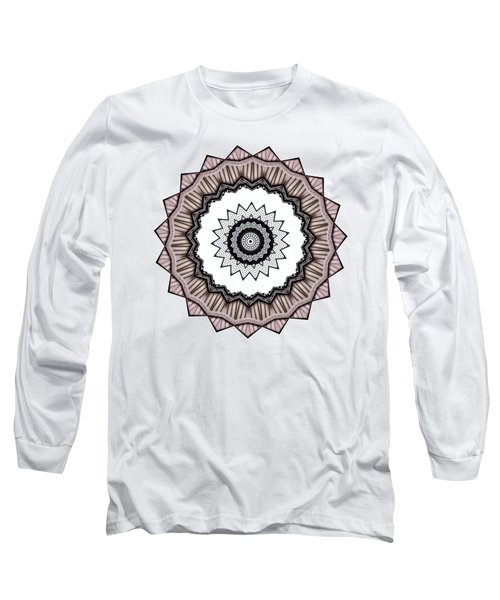 Construction Mandala By Kaye Menner Long Sleeve T-Shirt