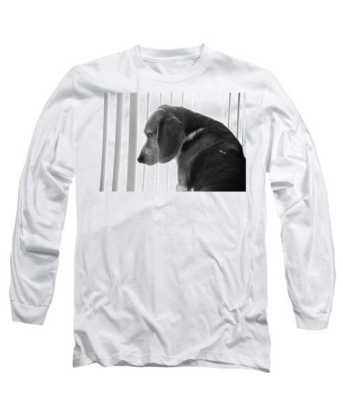Contemplative Beagle Long Sleeve T-Shirt