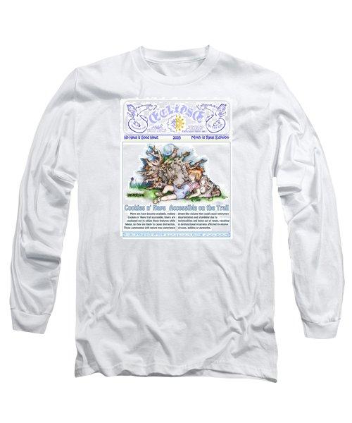 Cookies N' Naps Excerpt Long Sleeve T-Shirt