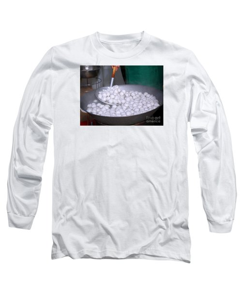 Cooking Chinese Fish Balls Long Sleeve T-Shirt
