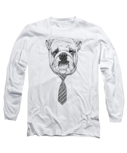 Cooldog Long Sleeve T-Shirt by Balazs Solti