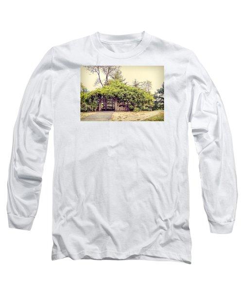 Cop Cot - Central Park Long Sleeve T-Shirt by Paulette B Wright