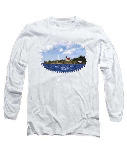 Copper Harbor Lighthouse Long Sleeve T-Shirt