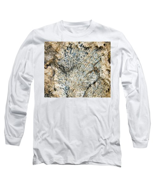 Long Sleeve T-Shirt featuring the photograph Coral Fossil by Jean Noren
