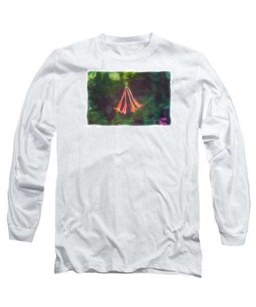 Coral Honeysuckle Long Sleeve T-Shirt