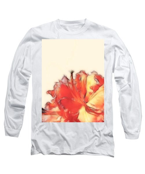 Coral Rhododendron Long Sleeve T-Shirt
