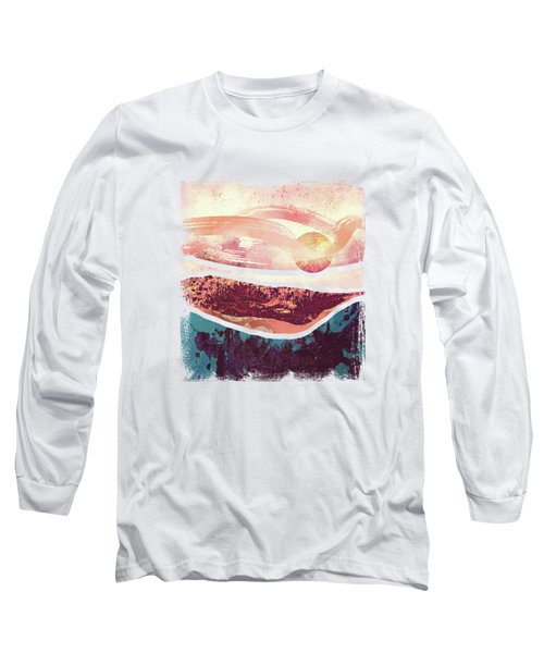 Coral Sky Long Sleeve T-Shirt by Katherine Smit