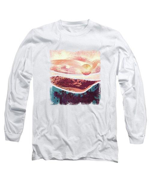 Coral Sky Long Sleeve T-Shirt