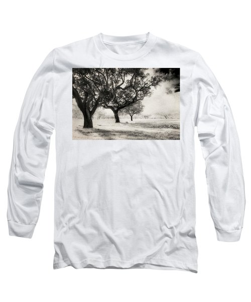 Cork Trees Long Sleeve T-Shirt by Celso Bressan