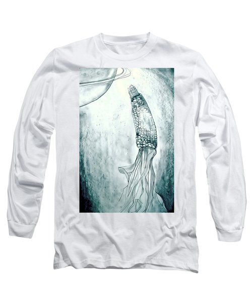 Corn In Space Long Sleeve T-Shirt
