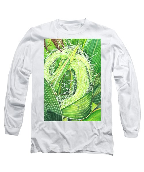 Corn Silk Long Sleeve T-Shirt