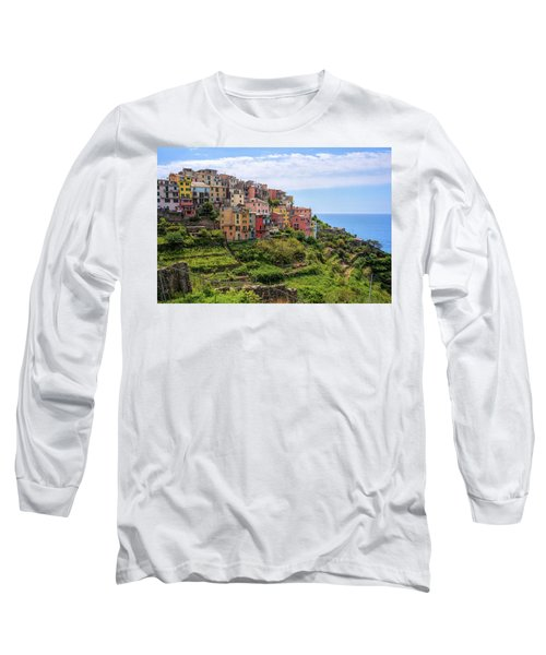Corniglia Cinque Terre Italy Long Sleeve T-Shirt
